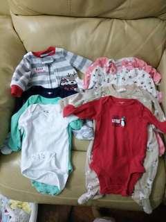 Newborn sleepers (baby girl)