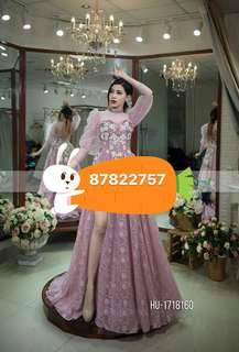 Custom Made Wedding Gown for sale