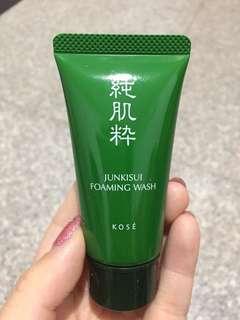 KOSE Junkisui Foaming Wash (30ml)