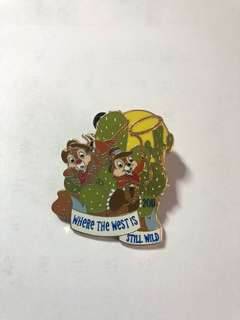 迪士尼襟章 chip and dale disney pin
