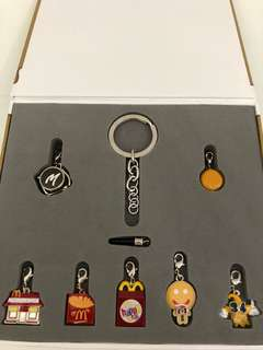 McDonald's Collectible Keychains