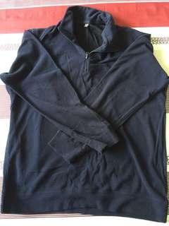 Uniqlo Heattech Half Zip T-Shirt (Men)