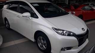 Toyota Wish S edition 2014 unregister