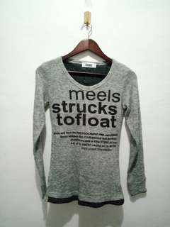 ❗[3 for 100] Gray Long Sleeves