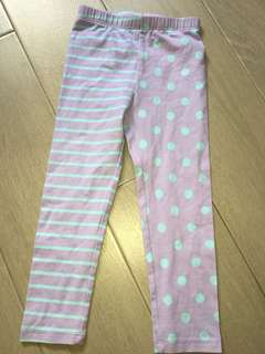 TCP Mixed Girl Leggings 3T