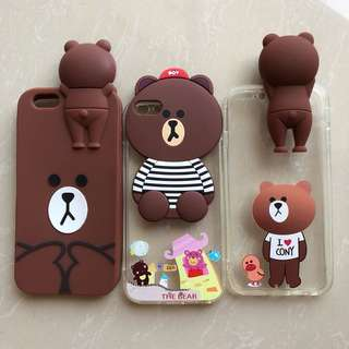 TAKE ALL Brown Iphone 6 / 6s Softcase 🐻