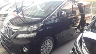 Toyota Vellfire Golden Eyes 11/ZG Edition 2013/14 unregister