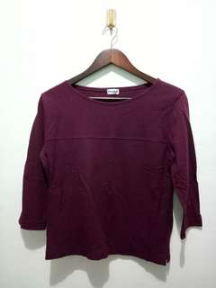 ❗[3 for 100] Maroon 3/4 Sleeves