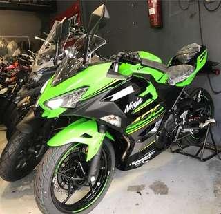 Kawasaki NINJA 400ABS 2018