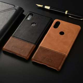 Xiaomi mix 2s leather casing