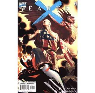 EARTH X #1-12, #X (1999) Alex Ross covers