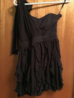 French Connection One Shoulder Dress (small)