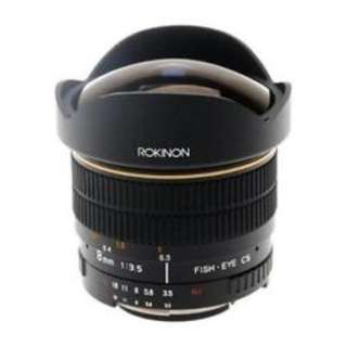 Rokinon 8mm F3.5 Fish Eye Len for Canon Mount. Brand New