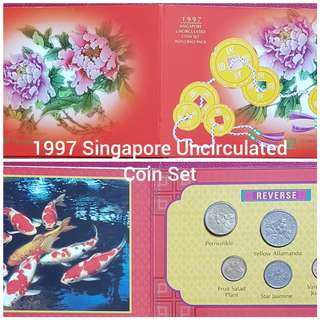 1997 Singapore Uncirculated Coin Set