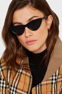 h&m cat eye shaped sunglasses