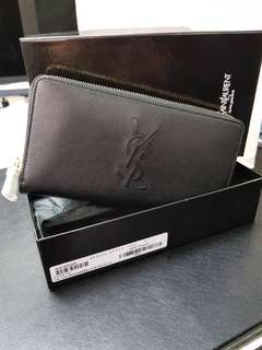AUTHENTIC YSL LONG WALLET. BOUGHT DIRECT FRM EUROPE. FULL SET WITH BOX, AUTHENTIC CARD AND INVOICE FRM SELLER.