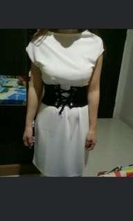 One Set Dress ( Dress + Belt )