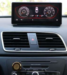Audi 2015 Q3 8.8inch touch screen with Android