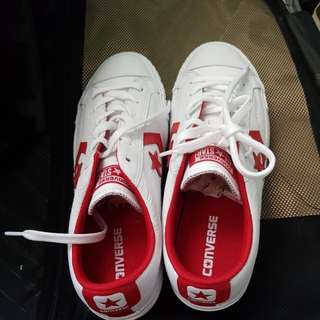 c4881396bca4 Brand new one star converse white and red color