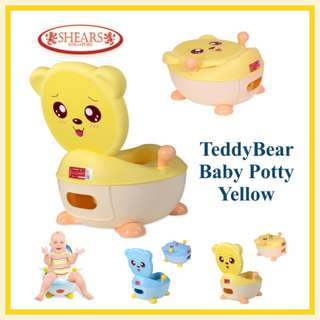 Potty TeddyBear Yellow - Shears