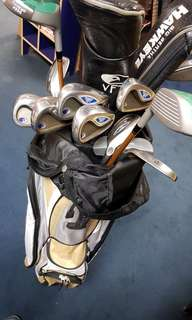 hope -Hawk eye golf set