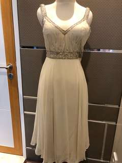 Evening Dress Off-white