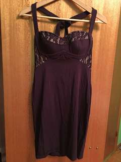 Marciano Sexy Purple Dress