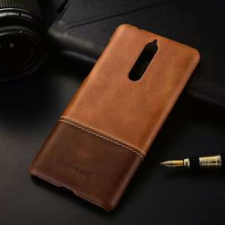 Nokia 8 leather casing