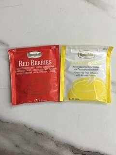 Ronnefeldt fruit tea #list4sbux