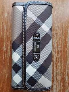 Burberry blue label wallet purse