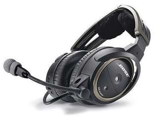 Bose A20 Bluetooth active noise cancelling aviation headsets