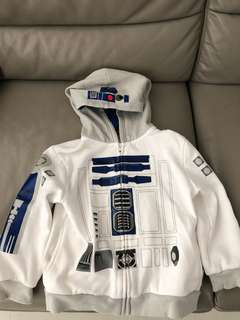 Preloved Disney Store Star Wars R2D2 jacket