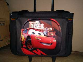 limited edition trolley bag for boys w/ free tumbler