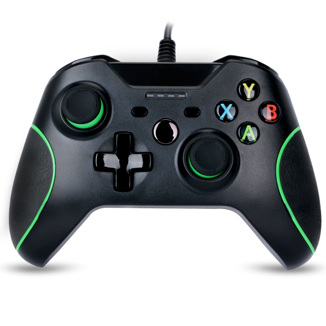122. Game controller for Xbox one Wired Gamepad Joystick Dual ...