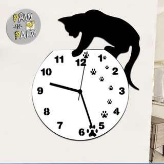 Cat design clocks