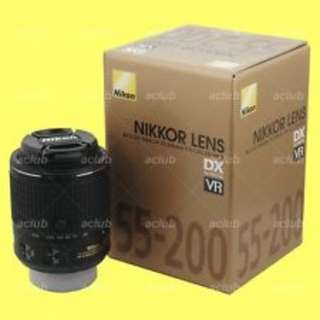 Nikon AF-S 55-200mm f/4.5-5.6G IF-ED DX VR len. Brand New