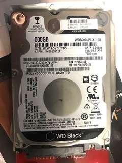Hard Disk Western Digital Black 500GB 7200rpm