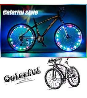 Bike Wheel Lights Auto Open and Close Ultra Bright LED