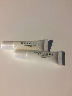 Bvlgari Lip Balm 7ml each