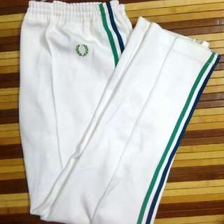 Vintage fred Perry 80s track pants