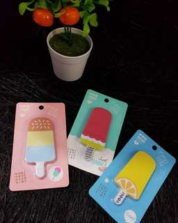 POPSICLE STICKY NOTES