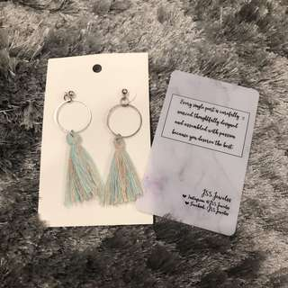 Hey Tassel Earrings