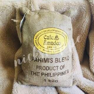 Cafe Amadeo Pahimis Blend Coffee 1Kg in Jute