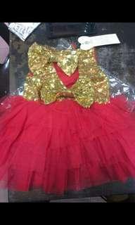 BIRTHDAY RED DRESS