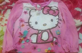 Hello Kitty Long Sleeves Size 3t