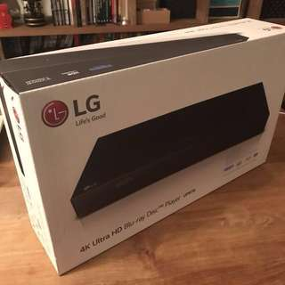 LG 超高清 UP970 4K Blue Ray Player