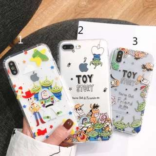 *Preorder*_Toy Story Series_Iphone Soft Casing•Full Cover