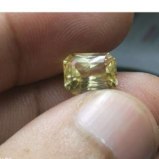 CERTIFIED Y SAPPHIRE UNHEATED SRI LANKAN NATURAL YELLOW SAPPHIRE FOR RING OR COLLECTION 50% LESS PRICE. BUY DIRECT. (PER CARAT PRICE) CT WT X PRICE STATED HERE.