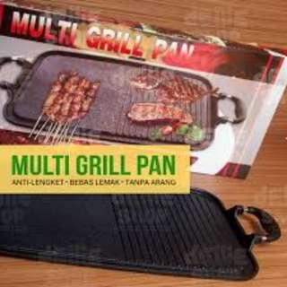 alat panggang sehat dan higienis multi grill pan panggangan tanpa arang