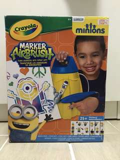 售:Crayola Minions 噴畫套裝